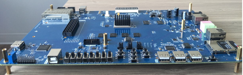 FII-PE7030 FPGA Development Board and Educational Platform ( xc7z030 ZYNQ  EVB Board )