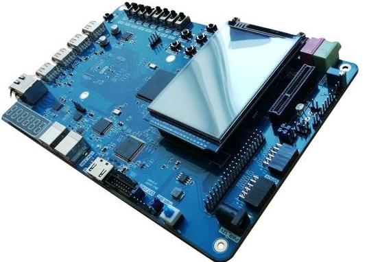 RISC-V FPGA Board ( ARTIX 100T, XC7A100T ) - FII-PRX100