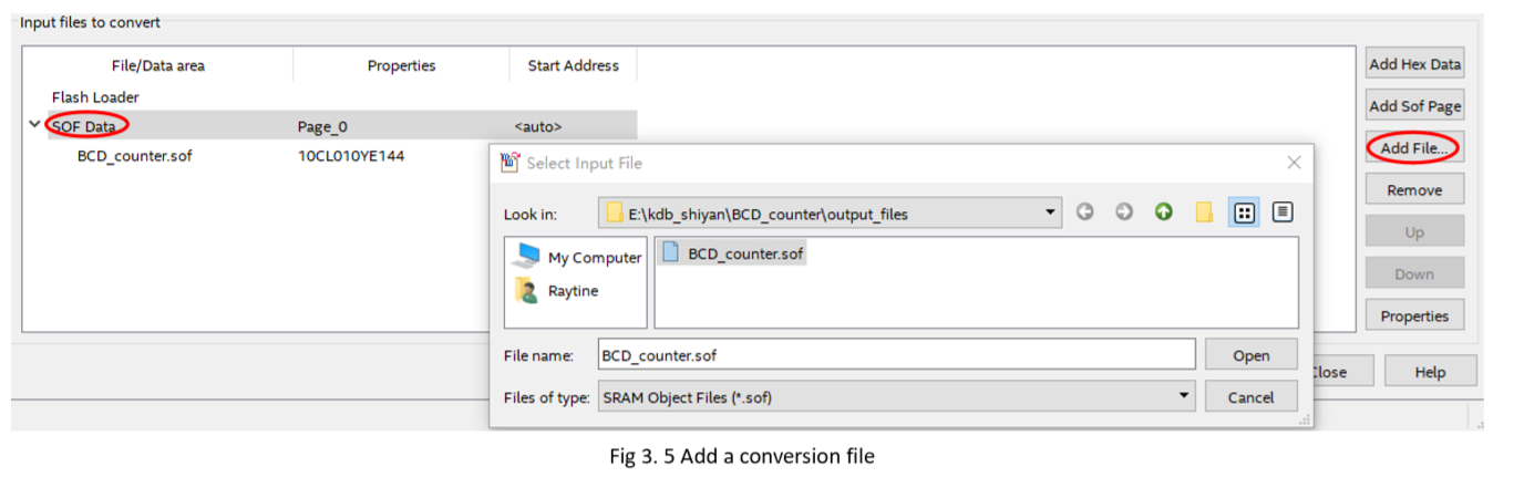 Add a conversion file