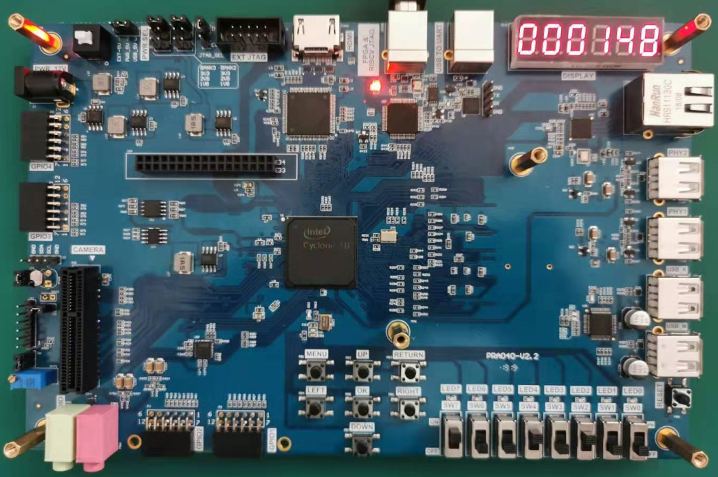 Altera Risc-V Board Use of ROM Experimental Results