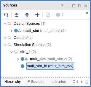 Create a simulation file.